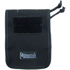 """Pocket notebook cover fits all 4"""" x 6"""" top spiral notebooks (sold separately). www.Maxpedition.com"""