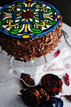 Писана домашна торта с карамелен крем / With translator