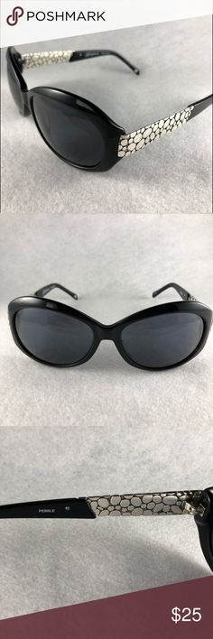 348f155bd4 Brighton Sunglasses Pebble Brighton black sunglasses in Pebble design. Dark  lenses are in perfect condition