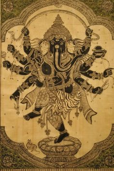 Ganesh The Hindu God Of Wisdom Knowledge And The Remover Of Obstacles