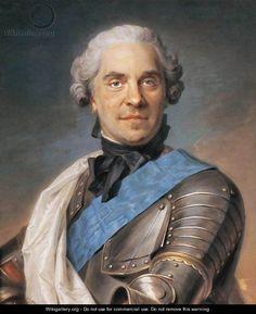 Marechal de Saxe - Maurice Quentin de La Tour