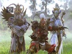 Carnasoar, Grizzaka, and Jellica. Power Rangers Jungle Fury, Mortal Kombat, Kamen Rider, Monsters, Army, Image, Random, I Like You, Gi Joe
