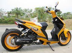 Gambar Modifikasi Motor Honda Beat Terpopuler