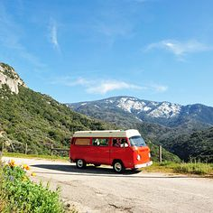 How to rent a vintage VW bus