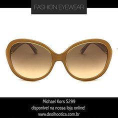91bb460fe5914 Um óculos de atitude e muita beleza. Você quer que esse lindo Michael Kors  seja seu  É só entrar no nosso site e fazer a compra.  www.deolhootica.com.br ...