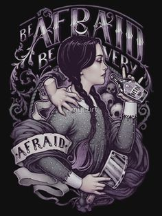 It's been a while since I have shared Wednesday Addams inspired art, but recently saw this stunning piece by… Wednesday Addams, Happy Wednesday, Dark Beauty, Die Addams Family, Addams Family Tattoo, Dark Side, Art Zine, Chesire Cat, Arte Horror