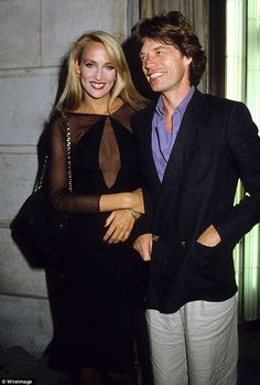 Mick Jagger became obsessed with the tall blonde Texan and the couple went on to have four children together, but Jerry Hall could never make him faithful, saying he had replaced a heroin addiction with sex