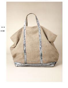 ♡ my beach bag - cabas vanessa brunO Cabas Vanessa Bruno, Casual Chique, Diy Sac, Big Bags, Beach Club, Mode Inspiration, Mode Style, Beautiful Bags, Fashion Bags