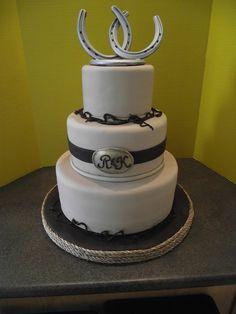 refreshing new Western Wedding Cakes
