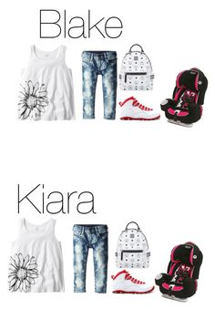 """""""Kiara and Blake; excited to hang out with friends today"""" by mackenzieandsierra ❤ liked on Polyvore featuring MCM and True Religion"""
