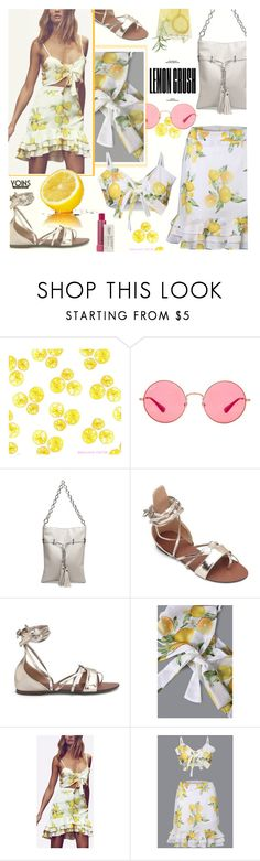 """""""Yoins 14: Lemonade"""" by bugatti-veyron ❤ liked on Polyvore featuring Ray-Ban, Kiehl's, yoins, yoinscollection and loveyoins"""