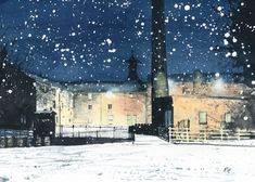 Limited Edition Giclee Print 'Annandale Distillery