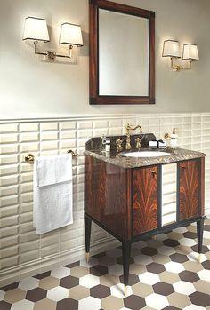 Zdjęcie numer 14 w galerii - Jak ułożyć płytki w łazience? Aranżacja łazienki bez nudy
