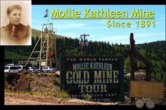 Cripple Creek, CO---We went down 1000 ft into this gold mine.  Very interesting but glad to return to the surface.
