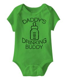 'Daddy's Drinking Buddy' Baby & Infant Bodysuit.