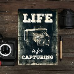 Notepad - Life Is For Capturing