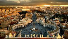 Aziz Petrus Meydanı #roma #vatikan https://lolibus.net/aziz-petrus-meydani/