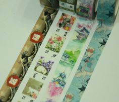 1 Roll Japanese Theme Washi Tape Pick  The Great by CollectingLife