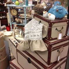 Beautiful trunks just in at Serendipity Market on Danforth next to Teds in Edmond OK