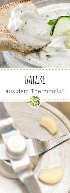 CREMIGES TZATZIKI (TSATSIKI, ZAZIKI) AUS DEM THERMOMIX®️️️ - geeignet für TM31 und TM5. Der Hit auf jeder Grillparty - lecker! #willmixen #zaziki # tzatziki # tsatsiki #thermomix #tm31 #tm5 #thermomixrezepte #thermomixrecipes #rezeptwelt