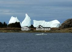 Icebergs off Newfoundland Newfoundland Canada, Newfoundland And Labrador, Newfoundland Icebergs, Beautiful Vacation Spots, Beautiful Places To Visit, Story Of The World, Wonders Of The World, Visit Canada, Visit Alaska