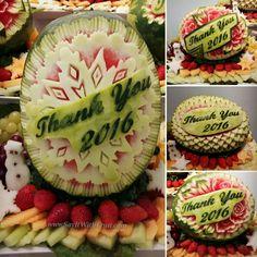 Edible Gifts, Watermelon, Birthday Cake, Fruit, Desserts, Food, Tailgate Desserts, Deserts, Birthday Cakes