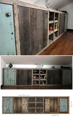 pomelli Archives - Raw Ideas by sandracaleffi Pallet Kitchen, Bungalow Interiors, Diy Furniture, Barn Bedrooms, Diy Cabinets, Recycled Furniture, Attic Bedroom Designs, Home Diy, Interior Design Bedroom