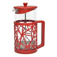 Room Essentials French Press -Red