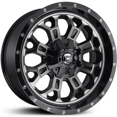 Fuel D561 Crush  Wheels Gloss Black Dark Tint