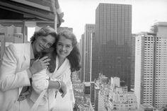 Brooke Shields et Christopher Atkins à New York en 1980