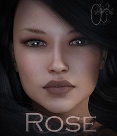 Rose is a hand sculpted custom character with standard morph additions. All Diffuse, Specular and Bump Maps are HD quality for a more realistic render finish.  Thank you for purchasing this product i hope you have fun creating beautiful renders with her.. Enjoy :P ---------------------------------------   Package contains the following:  - ADD FULL CHARACTER  - REM FULL CHARACTER  - ADD BODY  - REM BODY  - ADD FACE - REM FACE - ADD NIPPLE - REM NIPPLE - ADD NAILS ROUND - REM NAILS ROUND…