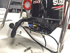 Mavi Mare Hydraulic Steering System, neat installation done by Tait Marine Hydraulic Steering, Stainless Steel Fittings, Electronics Online, Boat Accessories, Protective Cases, Boating Accessories