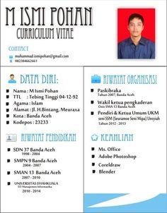 Desain CV dengan corel
