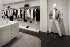Menswear collection at Stefanel, Firenze.