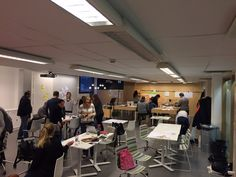 Creative thinking space at Laurea 2