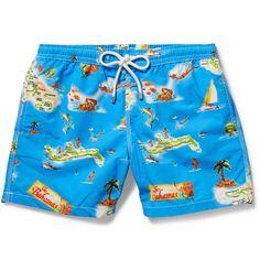 Hartford - Mid-Length Printed Swim Shorts | MR PORTER