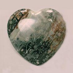 Utah Picasso Marble Heart   http://zionprospectorstore.com/