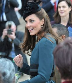 Kate, Duchess of Cambridge in Leicester 8th March 2012