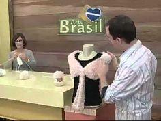 ARTE BRASIL - CLAUDIA MARIA - ESTOLA MULTIUSO EM TRICÔ (21/07/2011)