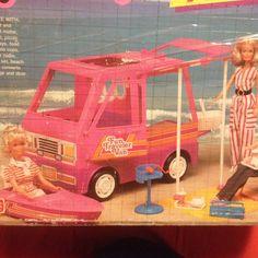 Barbie Camper Van On Pinterest Camper Van Beethoven Dawn Dolls And Barbie Camper