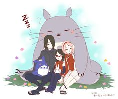 Image uploaded by Find images and videos about love, anime and family on We Heart It - the app to get lost in what you love. Naruto Team 7, Naruto Shippudden, Naruto Cute, Naruto Family, Naruto Couples, Boruto Naruto Next Generations, Fanart, Sasuke Sakura Sarada, Anime