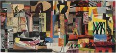 Paper Collage, 1941, Ad Reinhardt