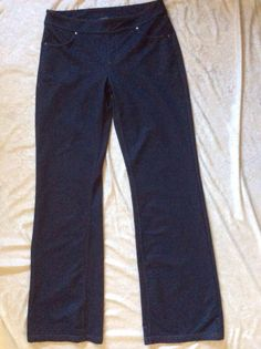 Athleta Bettona Jegging Medium Womens Blue Denim Legging Workout Pants Yoga