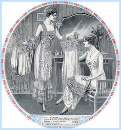 the 1910s-1915 La Samaritaine catalogue- underwear.