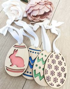 Egg Names, Easter Tree Decorations, Hanging Christmas Tree, Ply Wood, Birch Ply, Moving Gifts, Easter 2021, Babies First Christmas, Xmas Ornaments