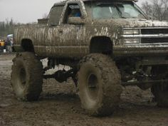 Yes... someday I'm gonna have a big muddy truck! <3