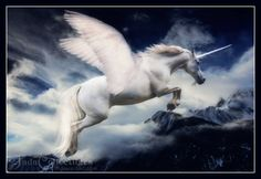 Winged Unicorn by JadaCollectibles on deviantART