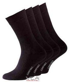 Herren Socken Größe 43-46 4er Pack ohne Gummi !