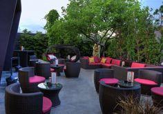 Modern Restaurant design in Miami #miamioutdoorliving #miamirealestate www.glynisfalconette.keyes.com