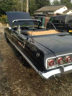 63 Impala vert, Japan 1963 Chevy Impala, Chevrolet Chevelle, Convertible, Impalas, Old School Cars, Love Car, Us Cars, Car Lights, My Ride